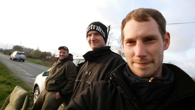 Nils, Willow und Gü am Abelitz-Moordorf-Kanal