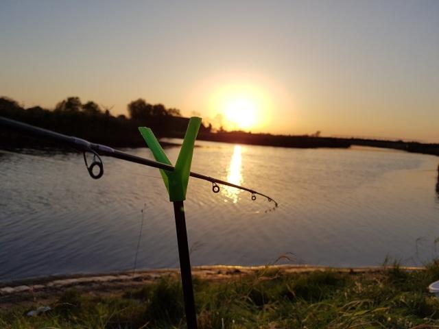 Larrelter Tief Sonnenuntergang