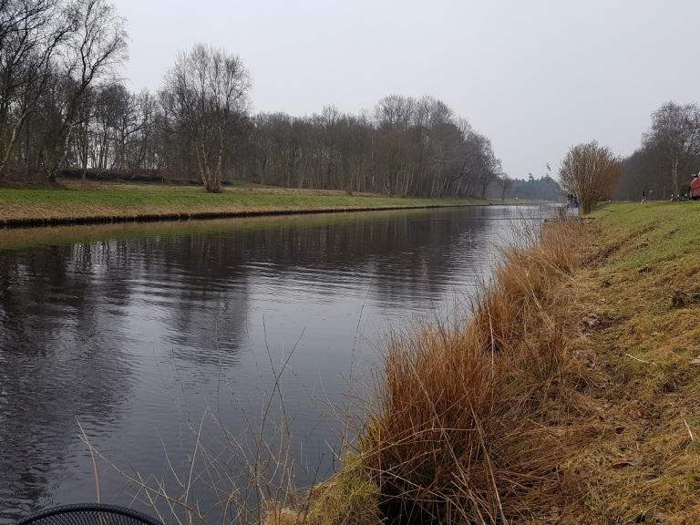 Hegefischen Ems-Jade-Kanal